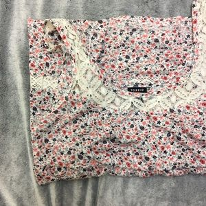 TORRID floral sleeveless tank top